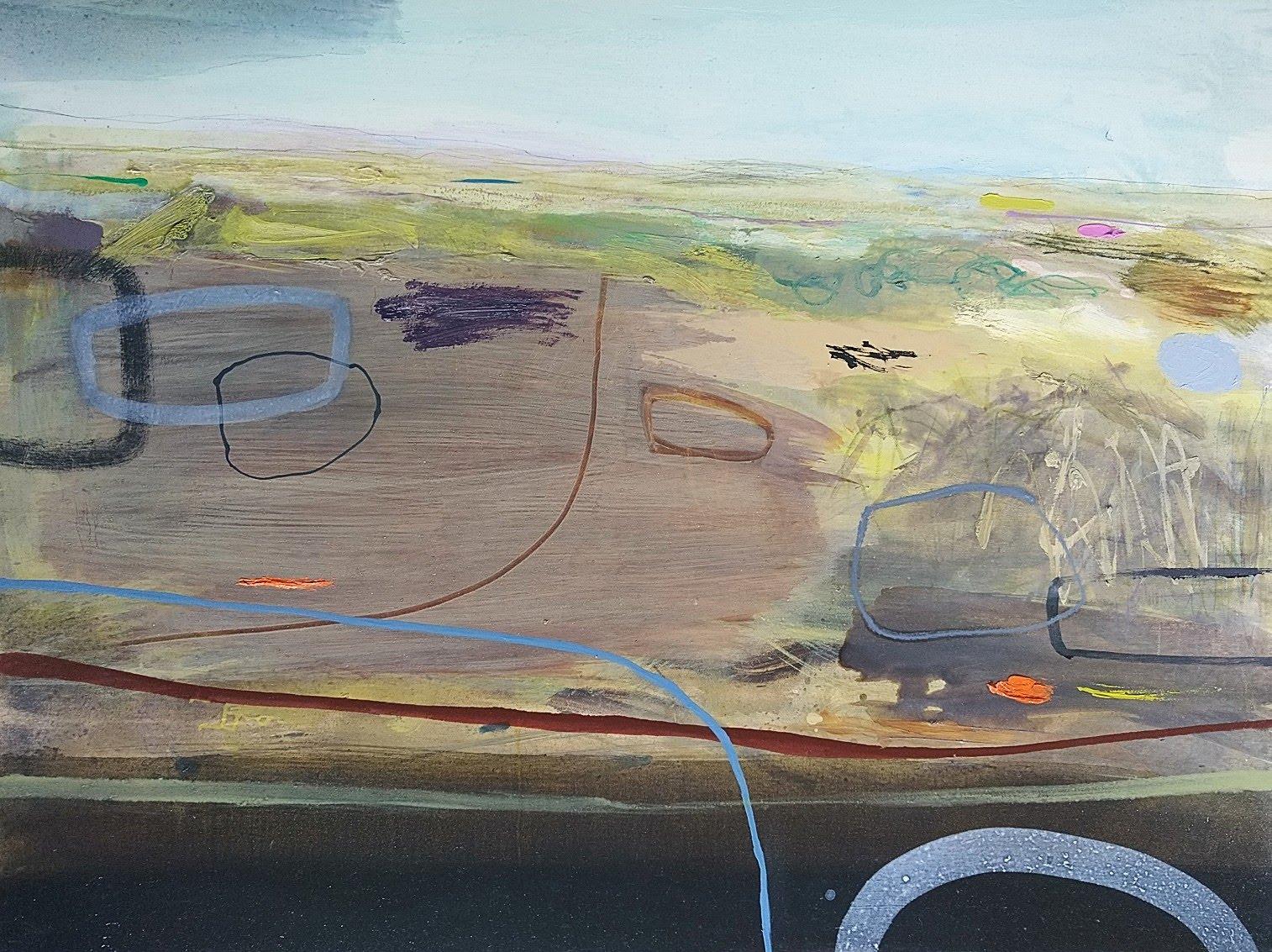 Ancient Land, oil, 71x101cm