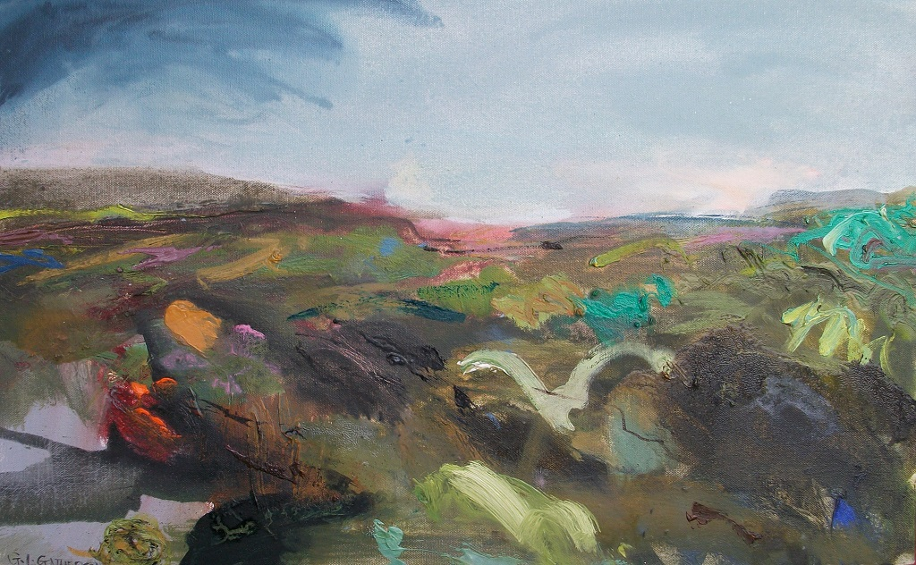 Wild Moors, oil, 40x65cm, SOLD