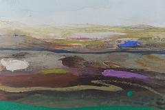 Green River, oil & pencil, 15x20cm