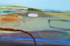Rocks & Paths, oil & pencil, 31x25cm £175