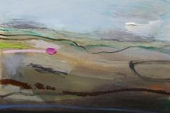 Traversing, oil & pencil, 31x25cm £175