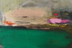 Verdant Land iii, oil, 25x30cm