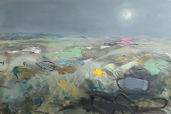 Winter's Moon, oil, 51x76cm, £450