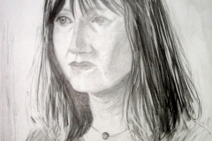 'Portrait of Fiona' pencil