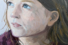 'Portrait of Bea' oil