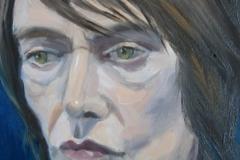 'Portrait of David', oil
