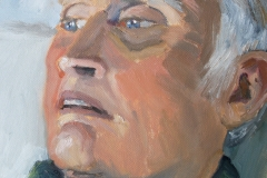'Portrait of Greg' oil