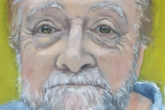 'Portrait of Rony Robinson' oil