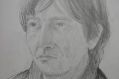 'Portrait of Tim', pencil