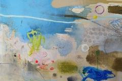 Flotsam, oil, pencil & pastel 25x30cm £250