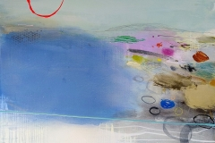 'Land of Sea Dreams' oil, pencil & pastel 76x102 cm