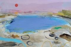 Sea Dreaming, oil, pencil & pastel 51x76cm