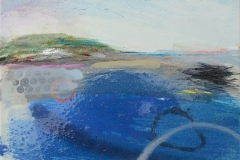 'Setting Out' 25x30cm oil £195