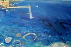 The Deep Blue Sea, oil, 61x76cm