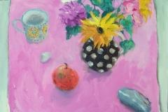 'September Flowers', oil, 50x50cm £395